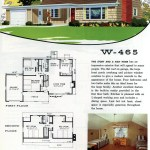 Original vintage exteriors and floor plans for American houses built in 1958 - at Click Americana (42)