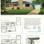 Original vintage house designs for homes built in 1952 - at Click Americana (3)