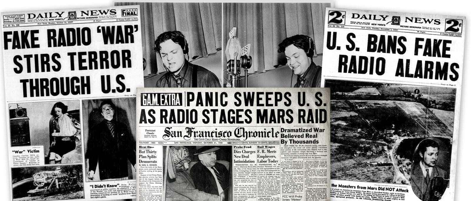 Image result for orson welles war of the worlds