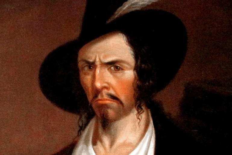Portrait of Jean Lafitte