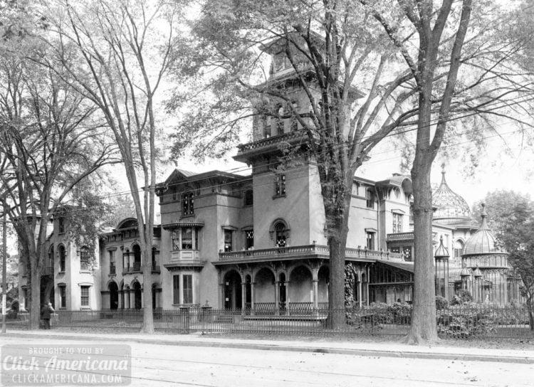 Residence of Mrs Samuel Colt, Hartford, Conn