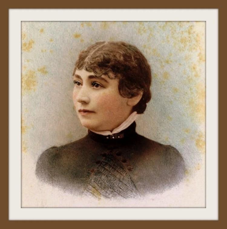 Sarah Winchester portrait c1865