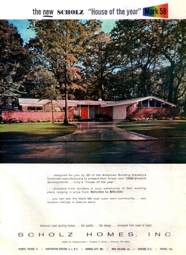 Scholz Mark 58 mid-century modern model home exterior (1)