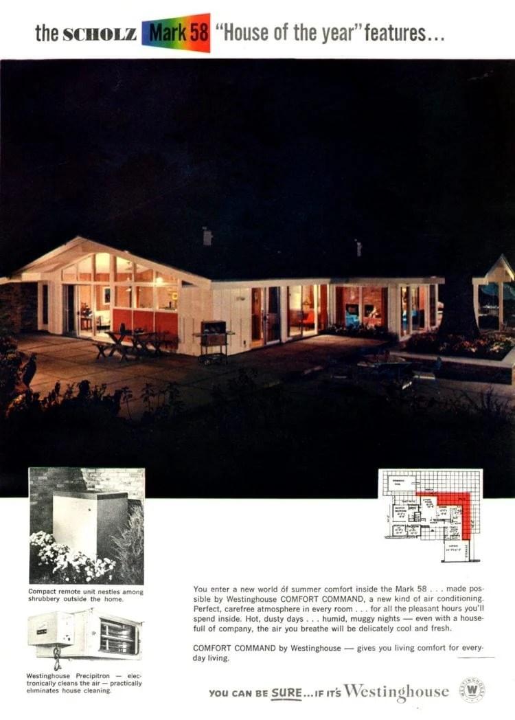 Scholz Mark 58 mid-century modern model home exterior (10)