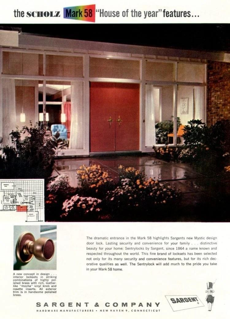 Scholz Mark 58 mid-century modern model home exterior (7)