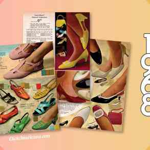 Shoes for women from the 1968 Wards catalog
