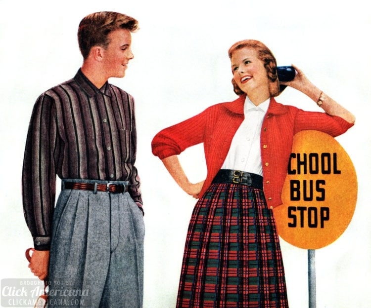 How to flirt and chase men 'til they catch you - Tips for girls from the 1950s