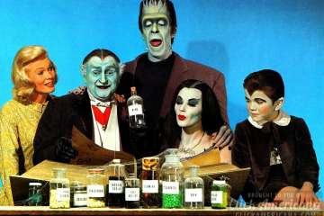 Cast of The Munsters 1960s