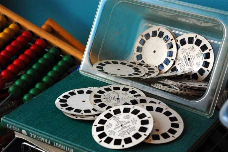 Tiny magical worlds A collection of vintage View-Master reels