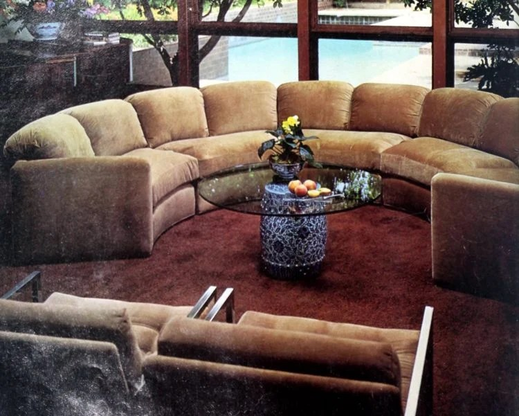 70 vintage sofas from the swinging 70s