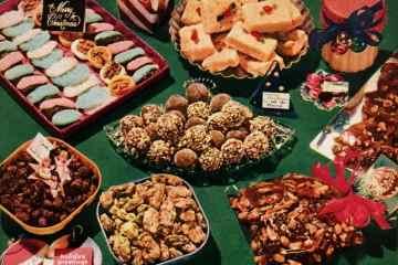 Vintage Christmas cookies