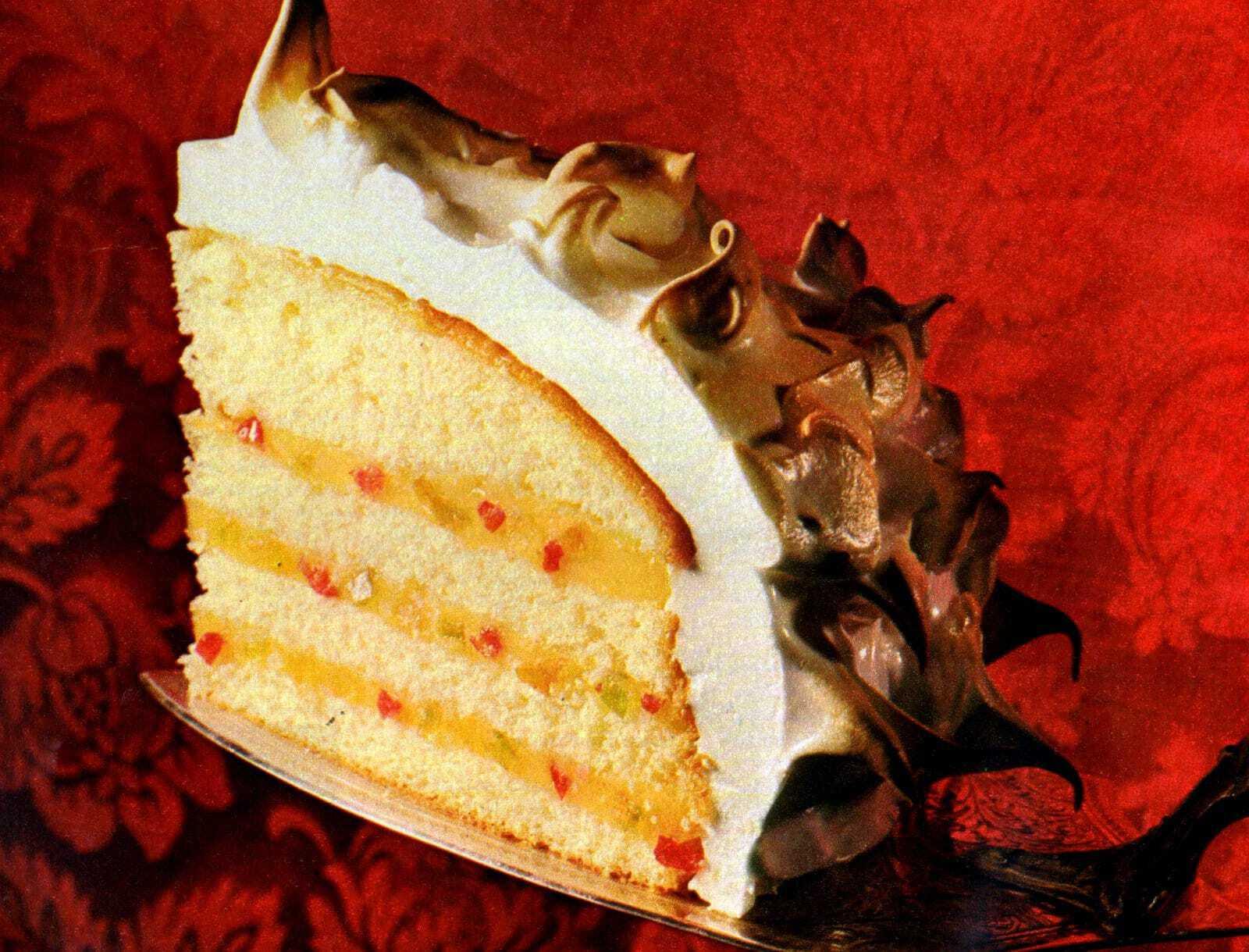 Venetian rum cake recipe (1968) - Click Americana