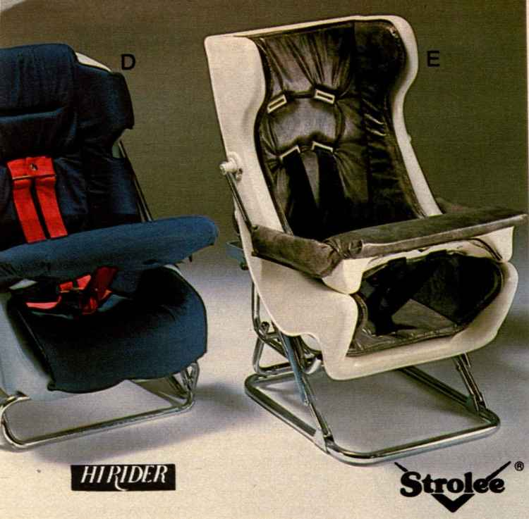 Retro Baby Car Seats From The 60s 70s Amp 80s Forward