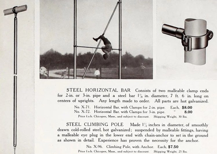 Vintage old playground fun from 1911 (1)