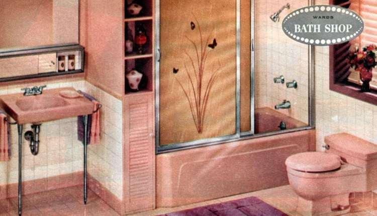 20 Vintage Pink Bathrooms Bubblegum Era Midcentury Home