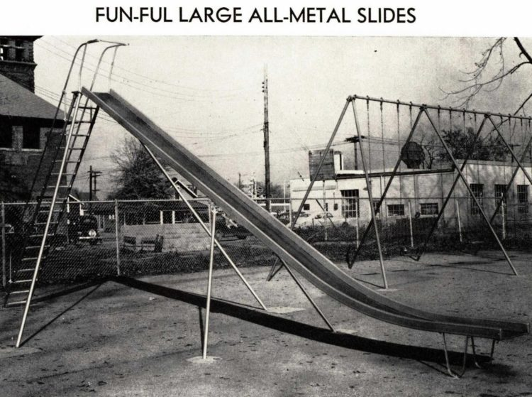 Vintage playgrounds from 1940 at Click Americana - General Playground Equipment Inc (3)