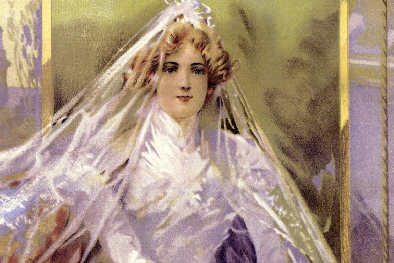 Why does a bride give up her maiden name (1902)