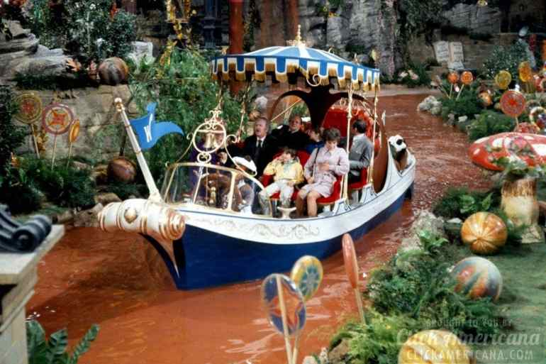 Willy Wonka and the Chocolate Factory (1971) Chocolate river