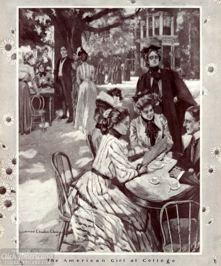 Women at college 1900