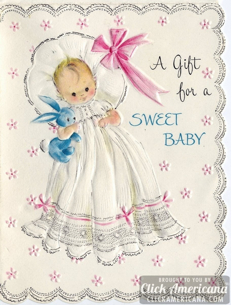 Congrats On Your New Baby Vintage Cards From 1969 Click
