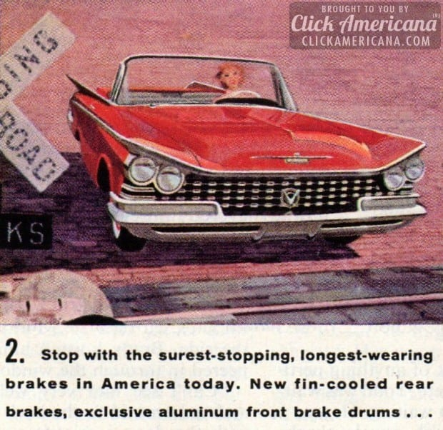 The Car: Buick '59. Le Sabre. Invicta. Electra.