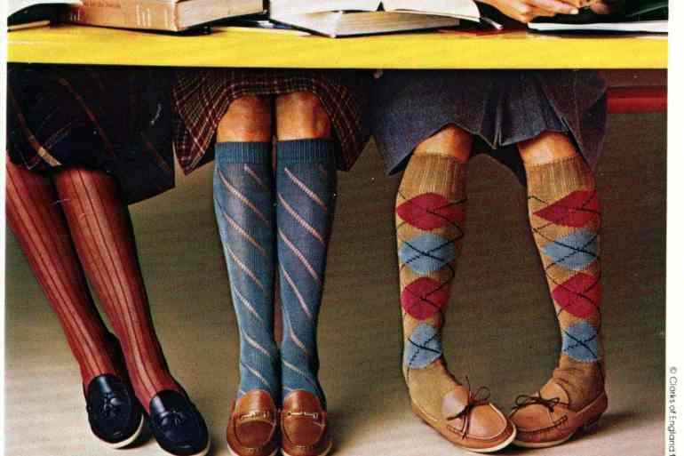 Clark's Casuals knee socks