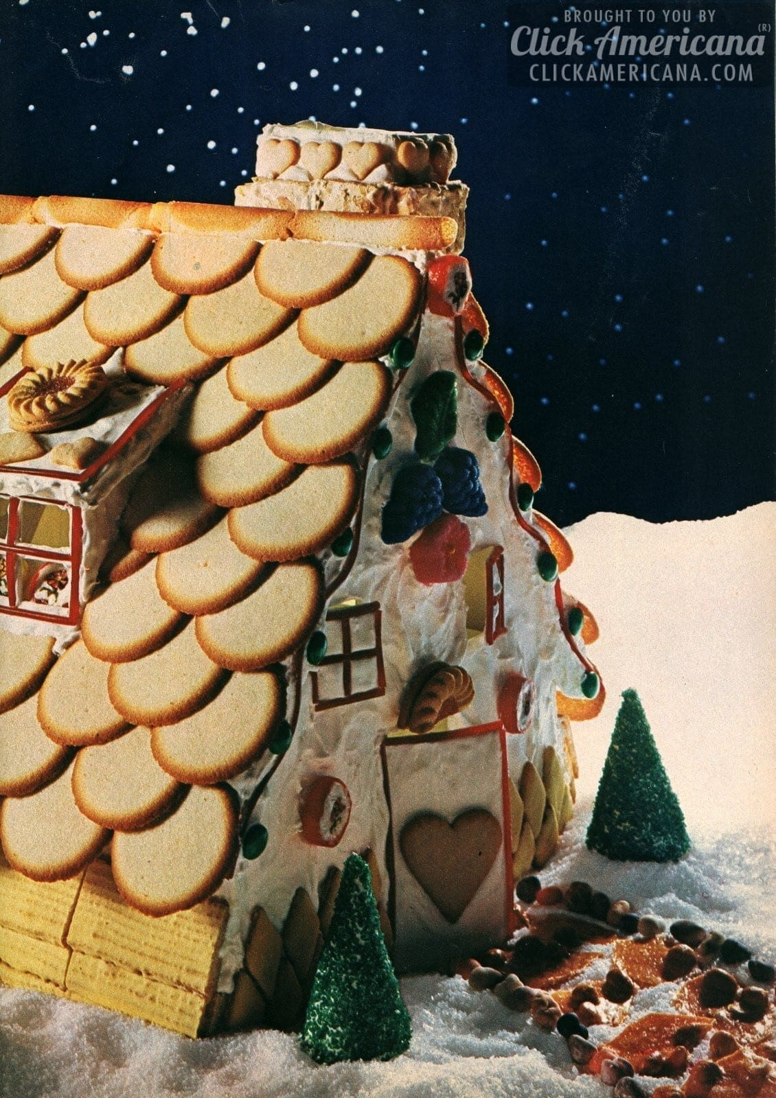 Make A Cookie House For Christmas 1967 Click Americana