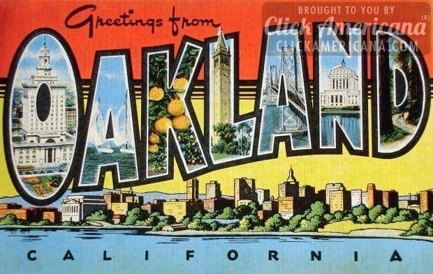 Greetings from california vintage postcards click americana greetings from california vintage postcards m4hsunfo