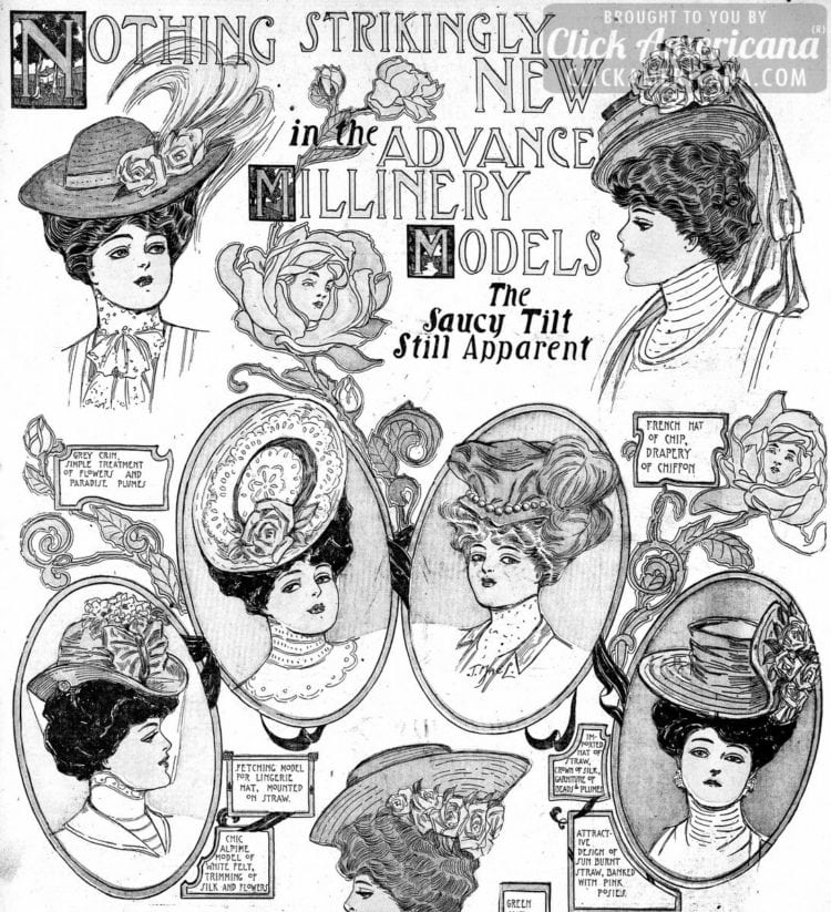 the most stylish hats of the season the saucy tilt still apparent 1890 Horse Riding Helmet the most stylish hats of the season the saucy tilt still apparent 1906