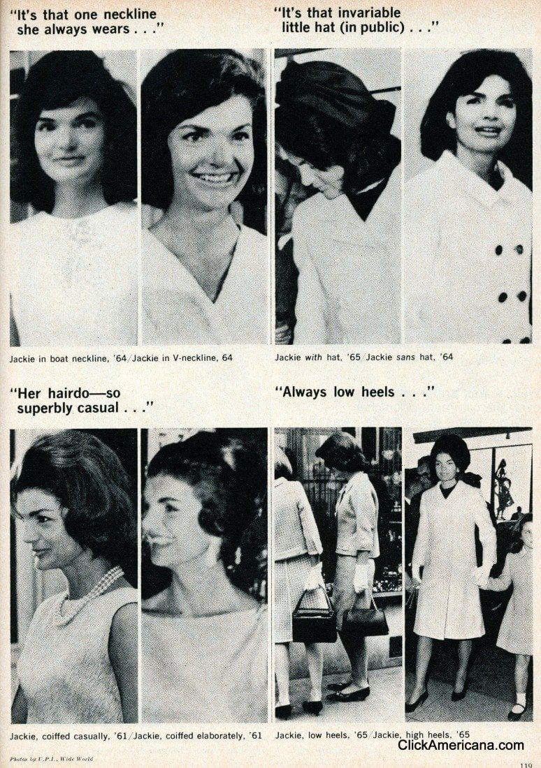 The Jackie Kennedy Look 1967 Click Americana
