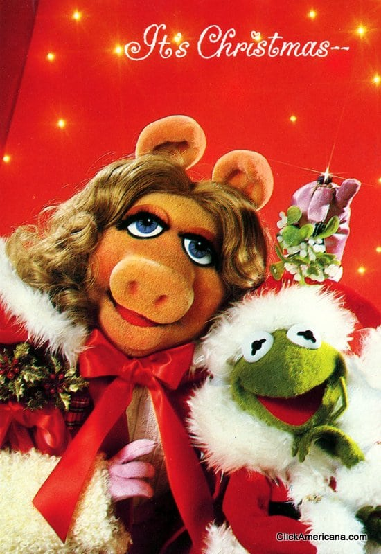 Classic 80s Characters On Christmas Cards Click Americana