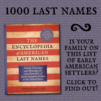 Last names book