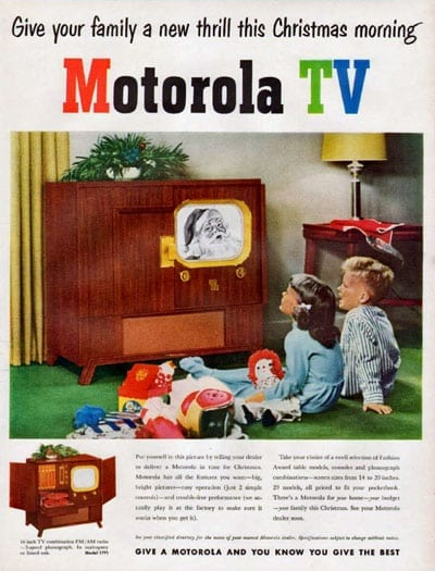 The straight facts about color TV (1950) - Click Americana