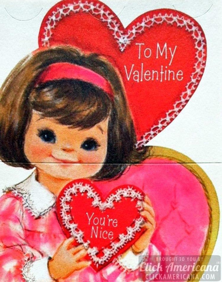 To my Valentine - You're nice