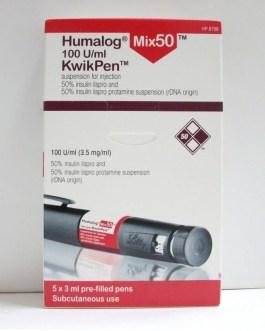 Humalog Mix 50 Kwikpen 100IU