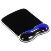 Acco Kensington Gel Wave Mouse Mat Blue/Black 62401-0