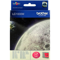 Brother LC1000M Ink Cartridges Magenta LC-1000M-0