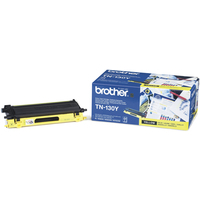 Brother TN130Y Toner Cartridge Yellow TN-130Y-0