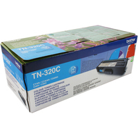 Brother TN320C Toner Cartridge Cyan-0