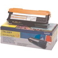 Brother TN328 Toner Cartridge Super High Capacity Yellow TN328Y-0