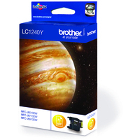 Brother LC1240Y Ink Cartridge Yellow LC-1240M-0