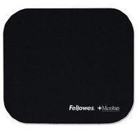 Fellowes Microban Mouse Mat Black 5933905-0