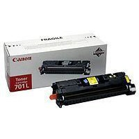 Canon 701Y Toner Cartridge Low Yield Yellow CRG-701Y 9284A003AA-0