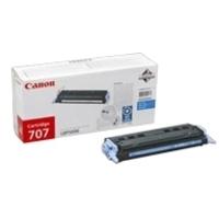 Canon 707C Toner Cartridge Cyan CRG-707C 9423A004AA-0
