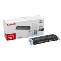 Canon 707BK Toner Cartridge Black CRG-707BK 9424A004AA-0