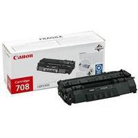 Canon 708 Toner Cartridge Black CRG-708 708BK 0266B002AA-0