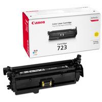 Canon 723Y Toner Cartridge Yellow CRG-723Y 2641B002AA-0
