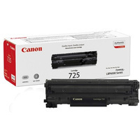 Canon LBP-600 Laser Toner Cartridge CRG725 Black 3484B002AA-0