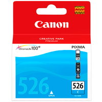 Canon CLI-526 Ink Cartridge Cyan CLI526 4541B001Aa-0