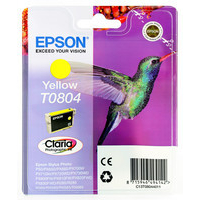 Epson T0804 Ink Cartridge Yellow C13T080440-0
